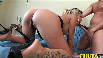 FHUTA - Dirty Slut Gets an Anal Punishment
