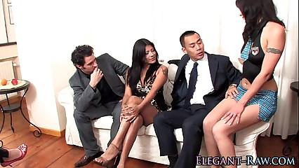 Classy sluts pussy cummed