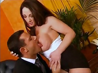 british busty milf cathy barry gets fucked in a threesome