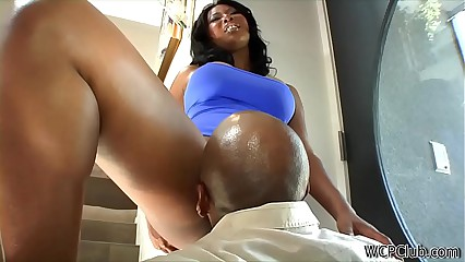 Busty Cheating Ebony Mom