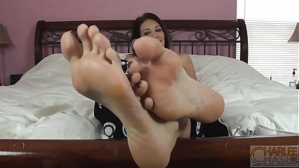 Charlee Chase Here's My Big Feet