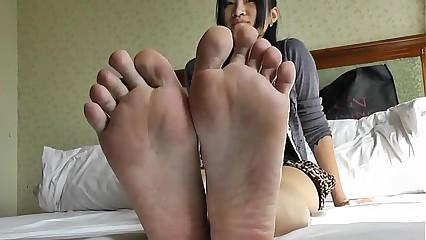 Asian Feet Fetish