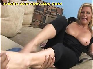 Black Likes MILF's Feet