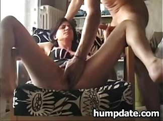 Cock sucking MILF gets fingered and fucked