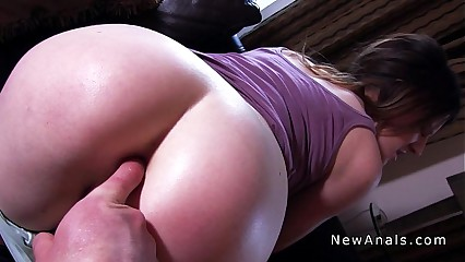 Teen tight ass banged pov for the first time