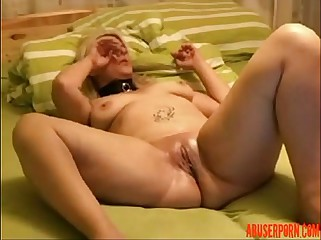 Amateur Couple Having Fun Fisting and Using a Bottle... milf - abuserporn.com