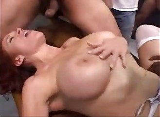 Mommy Gangbang