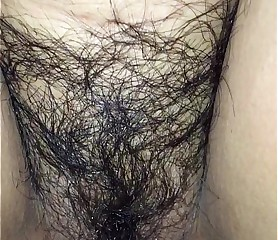hardcore fucking with my hairy pussy wife - she loves & cums