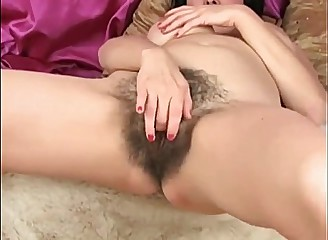 MILF Diddles Her Big Hairy Meaty Muff  - v1pcamz.com