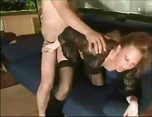 hot redhead milf banged on homemade sextape