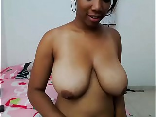 Great tits amateur girl on webcam