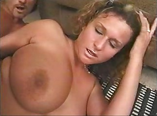 Huge natural tits stiff anal