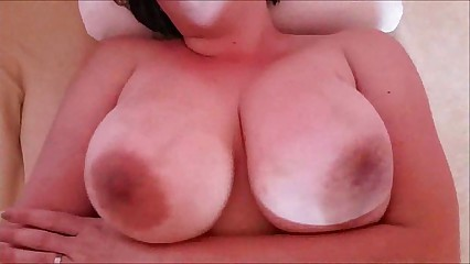 MILF with huge tits POV pleasure
