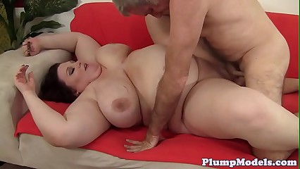 BBW with massivetits bouncing on hard dick