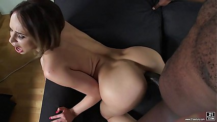 Aleska Diamond interracial assfuck
