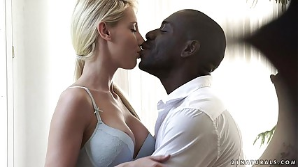 Interracial Anal with Kimber Delice