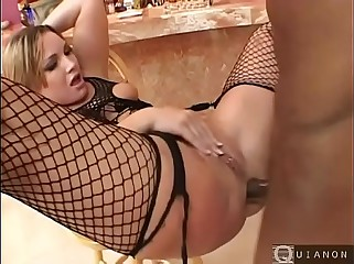 Flower Tucci interracial  bitch take big black dick