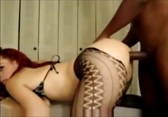 redhead milf from SelfiesMilfs.com  interracial anal