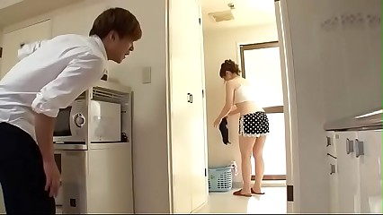 Sexy Japanese housewife down blouse - http://zo.ee/kJNR