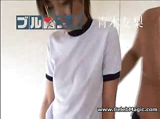 Japanese Girl Fingered and Creampied