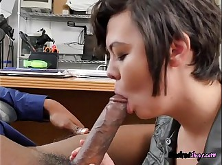 Chick Sydney Sky Does Blowjob And Rimjob For BF