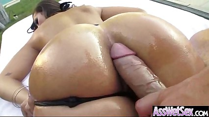 Anal Deep Hardcore Sex With Big Round Oiled Butt Slut Girl (kelsi monroe) vid-19