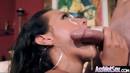 (kelsi monroe) Luscious Oiled Big Butt Girl Get Anal Sex video-20