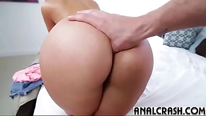 (kelsi monroe) Teen Hot Girl In Her 1st Time Ever Anal Sex Action clip-19