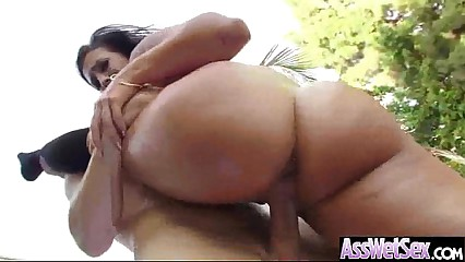 Anal Sex In Front Of Camera With Oiled Big Curvy Ass Girl (kelsi monroe) vid-13