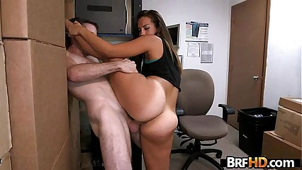 Tan ass beauty Kelsi Monroe flexible backroom fuck 1.5