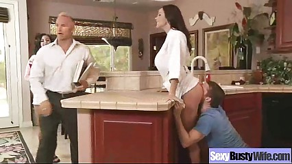 (kendra lust) Naughty Bigtits Housewife Bang Hardcore On Tape video-19