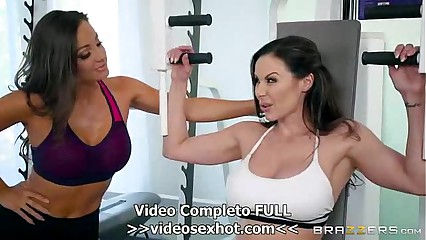 Kendra Lust & Abigail Mac Personal Trainers: Session 2