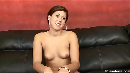 Latina cock slut Martina throat used and degraded