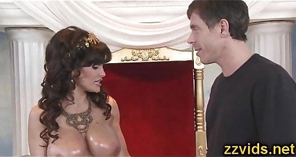 Beautiful booty milf Lisa Ann gets fucked hard
