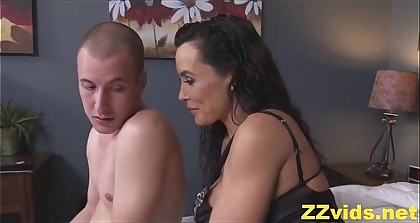 Lisa Ann fucked by stepson