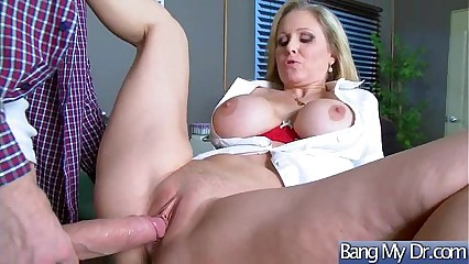 Horny Slut Patient (Julia Ann) Seduce Doctor For Sex Adventures Action movie-14