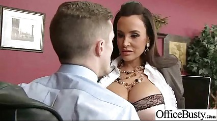 Sex Tape In Office With Busty Gorgeous Girl (lisa ann) clip-20