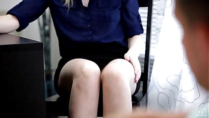 Blonde Seductress Summer Carter Fucks Her Boss - EroticVideosHD.com