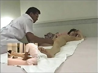 Japanese massage room hidden cam - 10cams.net