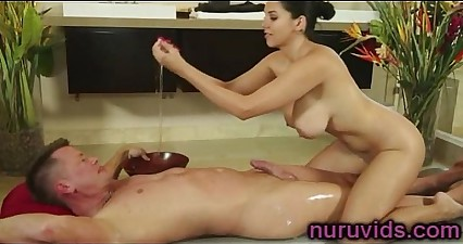 Missy Martinez hot nuru massage