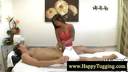 Hot full body asian massage