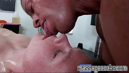 Boy Seduced During Massage on Massagecocks