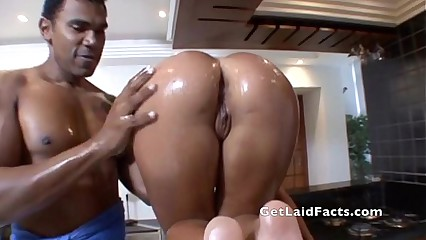 Brazilian Oiled Up Asses - 2