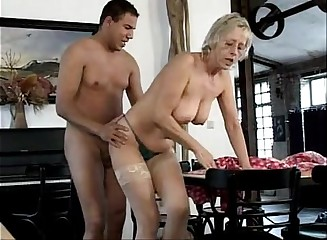 German old mature sluts - the old cleaning team