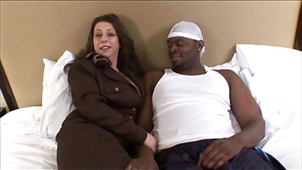 hot mature milf gets banged by black cock