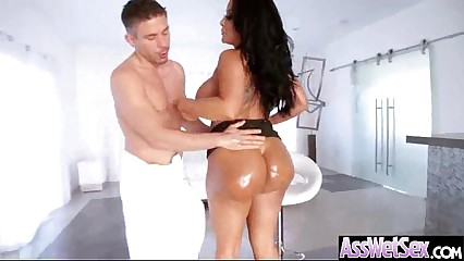 Superb Girl (kiara mia) With Big Round Wet Butt In Anal Sex Act movie-16