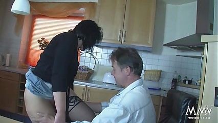 MMV FILMS Amateur German Mom