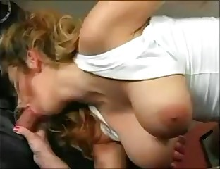 WHO IS SHE ? Awesome Natural Tits Milf