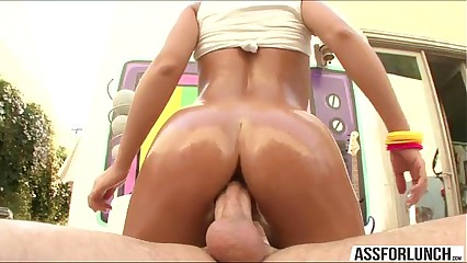 Sexy pornstar Nicole Aniston gets her pussy fucked in various positions