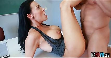 Nice Tits Hot Teacher Rides Cock Vanilla DeVille